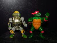Metalhead Wacky Raph Vintage TMNT Figure Lot Teenage Mutant Ninja Turtles (E-5)