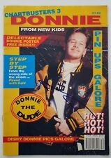 Donnie Wahlberg Signed Chartbusters 3 Magazine Blue Bloods Nkotb Legend Rad
