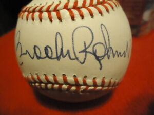 Brooks Robinson Orioles Autographed Personalized American League Baseball COA