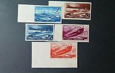 Stamps Spain ( España) # 1938, correo submarino SD. Edifil Nº,775/779  MNG