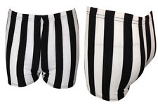 Hot Pants Striped Plus Size Shorts for Women
