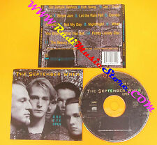 CD THE SEPTEMBER WHEN One Eye Open 1993 Europe WEA 4509918142 no lp mc dvd (CS4)