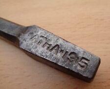 """WW1 (1915) British Army HEAVY DUTY Brace Bit - 3/4"""" Metalworking Bit (by ATHA)"""