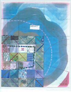 Jerry's Map Original Panel S4/E20 Gen VII Collectible Art!
