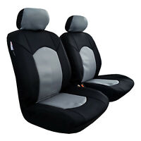 For Amarok VW Neoprene Seat Covers Black Charcoal Waterproof Airbag Safe