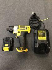 Dewalt 12V Li Ion DCF610 Cordless Screwdriver 1 Battery 1 Charger (used)