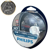 H7 PHILIPS  Racing Vision +150% 12972RVS2 2er Box plus Gückbringer Christophorus