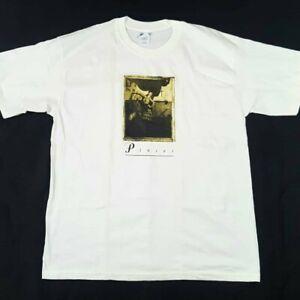 Vintage Pixies Surfer Rosa Album Cover White T Shirt Size XL On A Gildan Tag