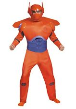 ADULT PLUS SIZE RED BAYMAX DELUXE COSTUME SIZE XXL (missing one wing for helmet)
