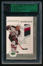 DEREK ROY ITG BUY BACK '03-04 PARKHURST ROOKIE ROOKIE EMBLEM PATCH 0923/4000