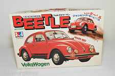 MITSUWA JAPAN KIT MW-500 251-R VW VOLKSWAGEN BEETLE KAFER RED MINT BOXED