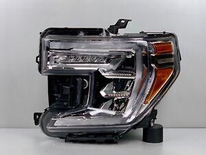 Complete 2019 2020 2021 GMC Sierra 1500 Left LH Driver Full LED Headlight OEM