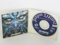 DUNGEON EXPLORER II 2 Item Ref/ccc PC-Engine SCD Hudson pe