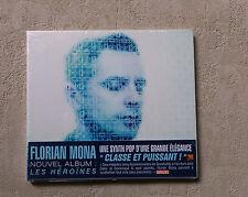"""CD AUDIO MUSIQUE / FLORIAN MONA """"LES HÉROINES"""" CD ALBUM DIGIPACK NEUF 11T 2013"""