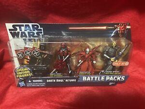 Star Wars Battle Packs Darth Maul Returns Target Exclusive