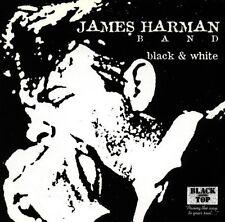 James Harman Band Black & White Blues CD New Harmonica Black Top Records
