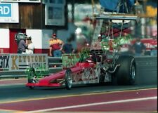 1980's Drag racing Photo negative Dick LaHaie Miller Top Fuel dragster