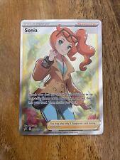 Pokemon Rebel Clash - Sonia 192/192 - Full Art Trainer Rare ~ BRAND NEW! 🔥