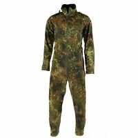 Original German army flecktarn camo overall suit combat tanker coverall jumpsuit