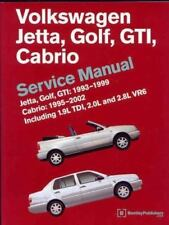 Volkswagen Jetta, Golf, GTI, Cabrio Service Manual: Jetta, Golf, GTI: 1993-1999;