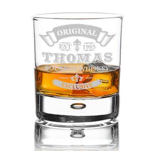 Personalisiertes Whiskyglas mit Gravur Original-Exclusive cognac scotch whisky