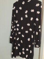 Abba Black Puzzle Dress Up Dress Retro Vintage  To Fit 10-12