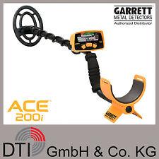 Garrett ACE 200i Metalldetektor, Metallsonde