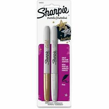 Sharpie Metallic Markers Fine Pt 2 Color/PK Gold/Silver 1829202