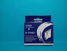 Cartucho tinta Cian T0482 NO ORIGINAL para Epson R200 R300 RX600