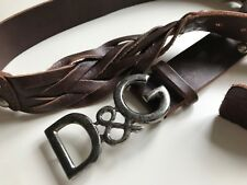 belt cintura uomo DOLCE & GABBANA   made in italy   LARGE 100