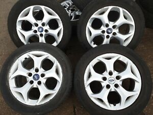 Ford TRANSIT CONNECT  16 INCH ALLOY WHEELS AND TYRES 205 55 16