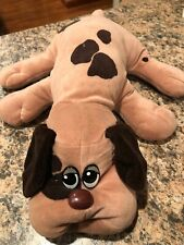 "Vintage 1985 Tonka Pound Puppy Plush Brown Large 18""  Pound Puppy"