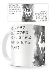 SKYRIM MUG - Cup 11oz Coffee Tea Elder Scrolls Dragonborn Novelty Geek Gamer