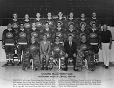 NHL Defunct Oakland Seals 1967 - 68 1st Team Photo 8 X 10 Picture