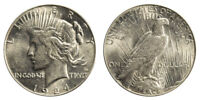 1924-S Peace Dollar Brilliant Uncirculated - BU