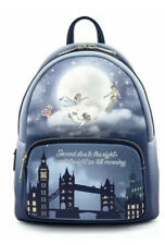 More details for disney peter pan second star - glow mini backpack loungefly  - in hand
