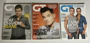 GAY TIMES x3 Gay Interest Magazine Keane - Emmerdale - UK June July May 2010