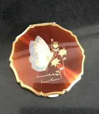 Stratton Powder Compact - Butterfly Design