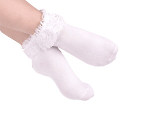 Flower girl First Holy Communion/Confession/Dance/Pageant Occasion Ankle Socks