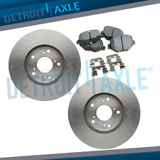 Front Disc Brake Rotors and Ceramic Pads for 2011 2012 2013 Ford Explorer