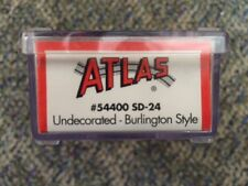Atlas Undecorated Burlington Style N Scale Stock No 54400 SD-24