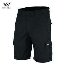 Men's Cargo Six 6 Pockets Pocket Shorts Casual Work Half Pants