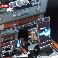 Car Phone Mount Holder+USB Port+Cigarette Port Fit Sony Xperia S LT26I Nozomi