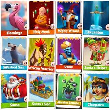 12 Rare Cards ### Coin Master Cards (Fastest Delivery)