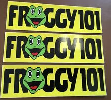 3x Froggy 101 Decal Desk Sticker THE OFFICE Dwight Schrute Michael Scott Lot Pam