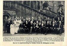15. Hauptversammlung des Deutschen Vereins für Volkshygiene in Kassel Ärzte 1913