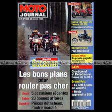 MOTO JOURNAL N°1220 CAGIVA SUPER 125 CITY, YAMAHA TDR 125, KAWASAKI 500 EN 1996