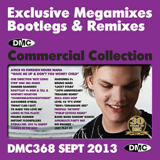 New DMC Commercial Collection 368 Club Hits DJ Clubber CD September 2013 Release