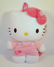 "2012 Hello Kitty 14"" Backpack Plush Stuffed Figure Sanrio Anime & Manga"