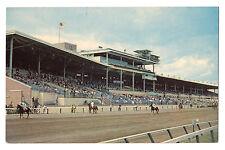 Delaware postcard Wilmington, Delaware Park Raceway grandstand horse racing